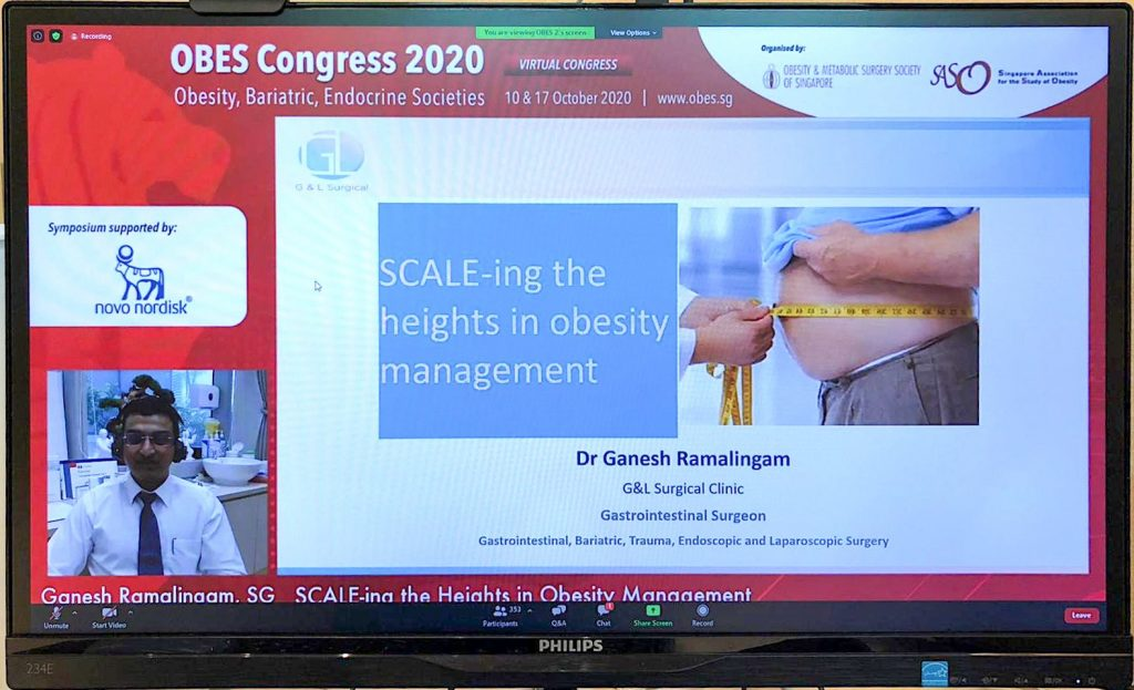 OBES Congress 2020, Dr Ganesh Ramalingam